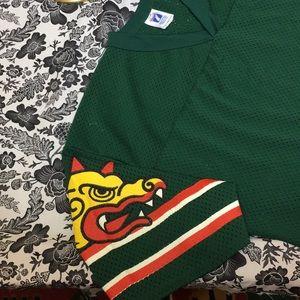 d1356bc62 LOGO 7 Shirts - ⚡ Vintage Barcelona Dragons WLAF Football Jersey
